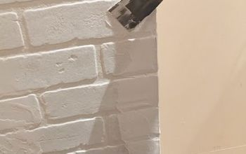HOW TO MAKE A DIY FAUX BRICK WALL LOOK REAL