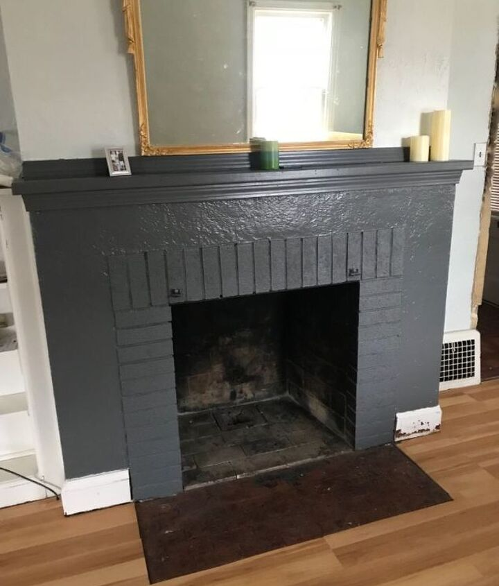 q porcelain on hearth