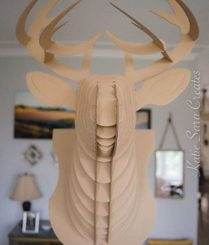 diy dollar store rudolph the red nosed reindeer decoration