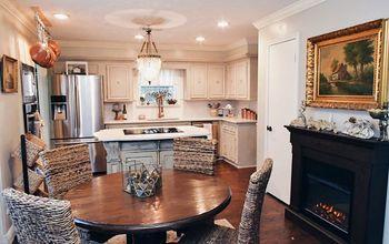 elegant farmhouse kitchen