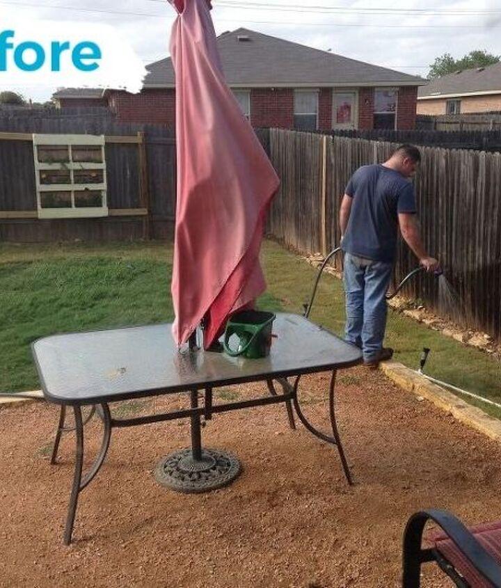 backyard makeover
