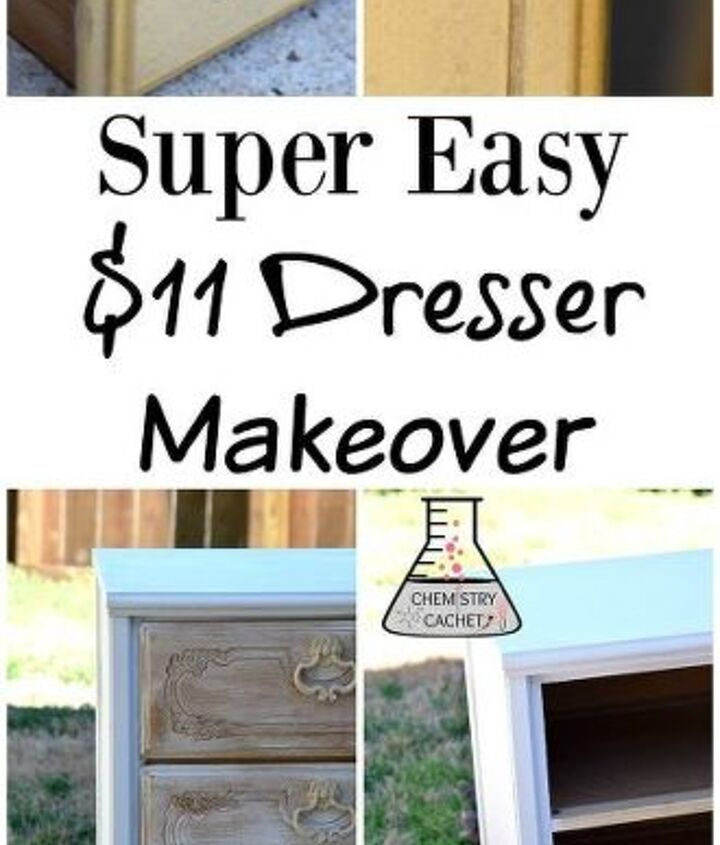 quick dresser makeover for 11