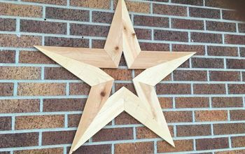 DIY Wooden Star Decoration for Your Wall