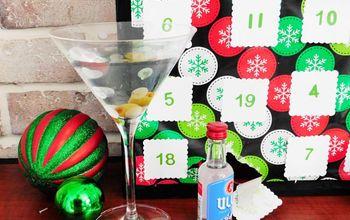 diy alcohol advent calendar