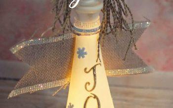 DIY Angel Bottle Decoration