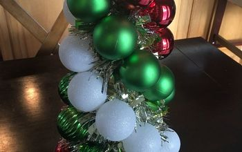 christmas ornament tree diy
