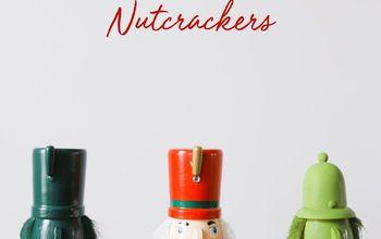 How to Make Modern Christmas Nutcrackers