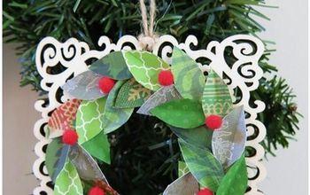 Festive Farmhouse Wreath Ornament