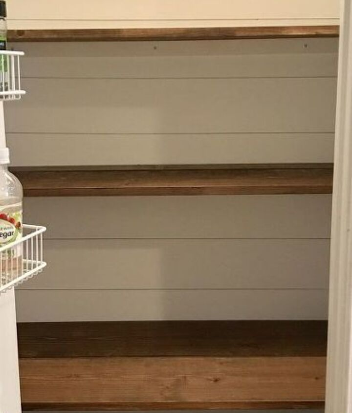 built in pantry organization