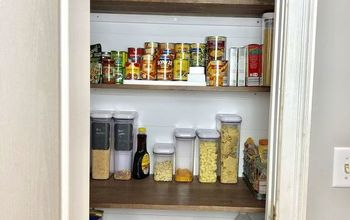 built in pantry organization