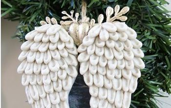 Angel Wings Christmas Tree Ornament