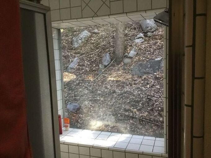 q what s the best way to cover insulate a big shower window in winter