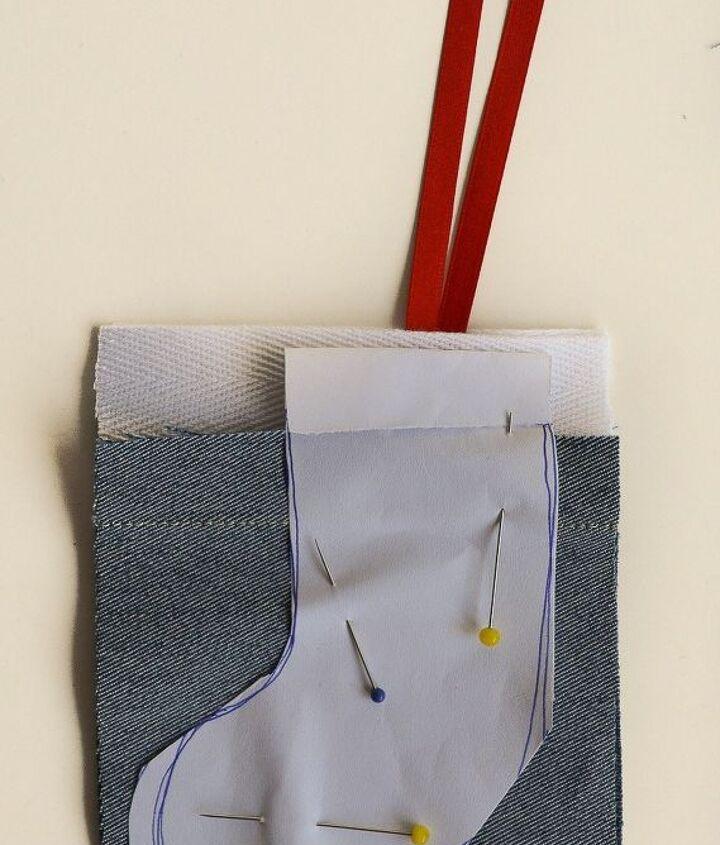 denim mini stockings advent calendar