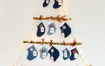 Denim Mini Stockings Advent Calendar