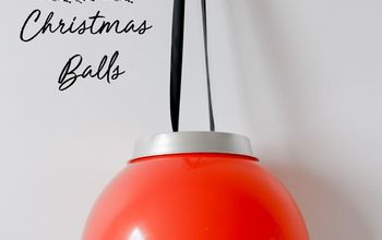 How to Make Giant Christmas Ornaments