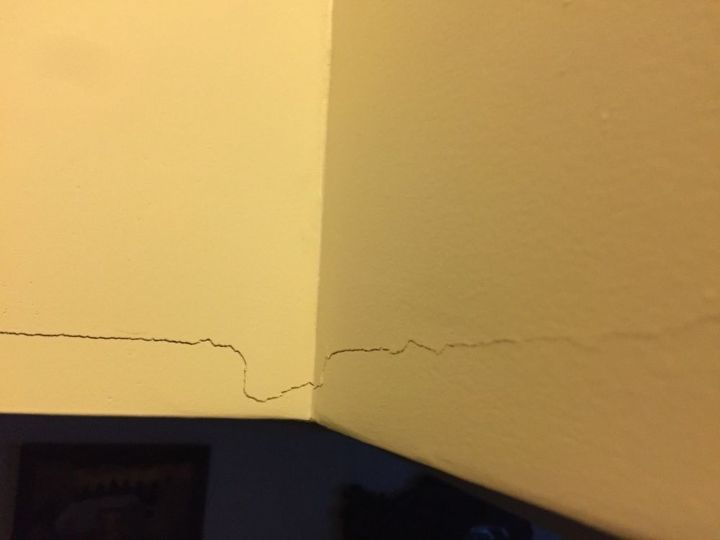The crack I was covering up