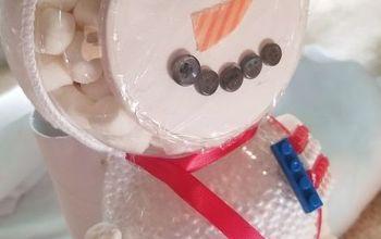 Astronaut Snowman Kids Craft