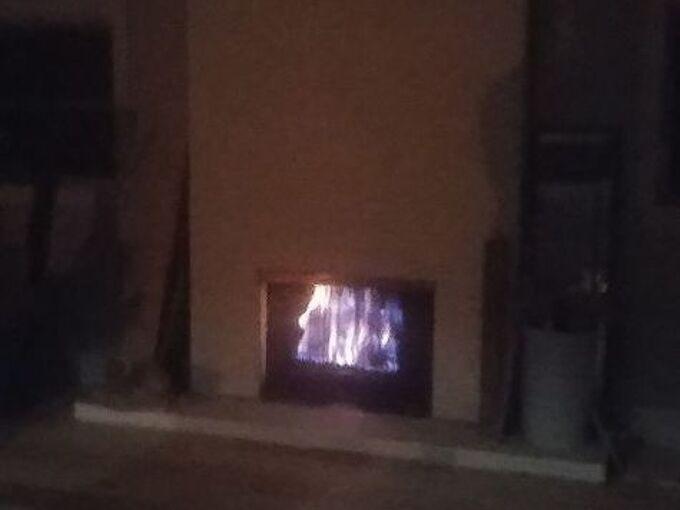 q fireplace