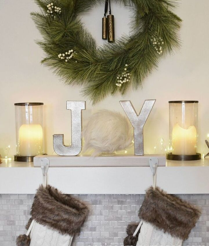 diy christmas decor ideas handmade stocking holder