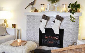diy christmas decor ideas handmade stocking holder