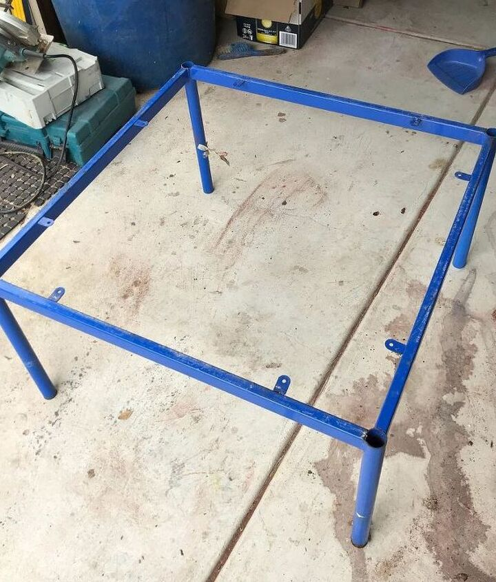two tone decking coffee table