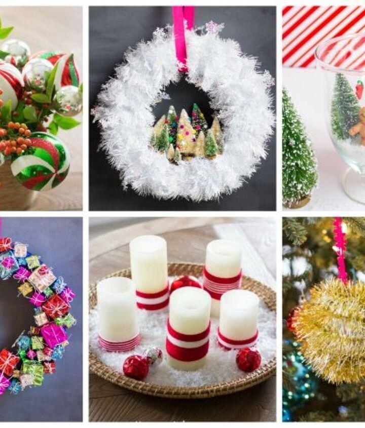tinsel christmas ornaments