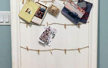 DIY – Christmas Card Display Frame