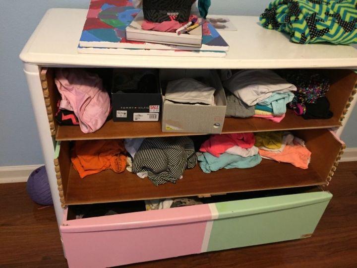 q how do i repair dresser drawers
