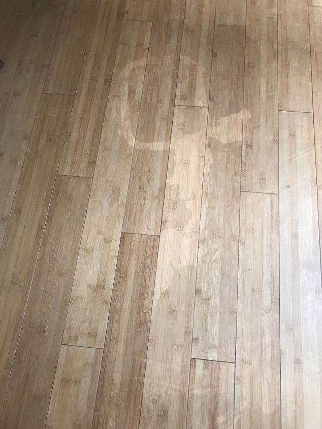 q how to fix hardwood floors