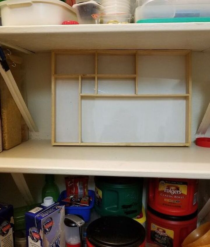 shadow box pantry help