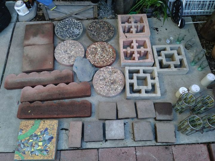 q where should i put my pavers and stepping stones
