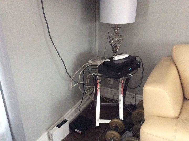 q how do i organize hide cables