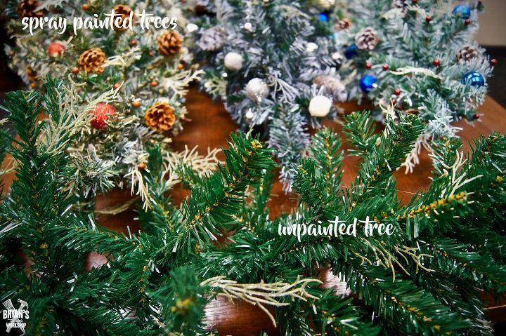 christmas tree makeover