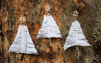 Beginner Macrame Project - Boho Christmas Trees