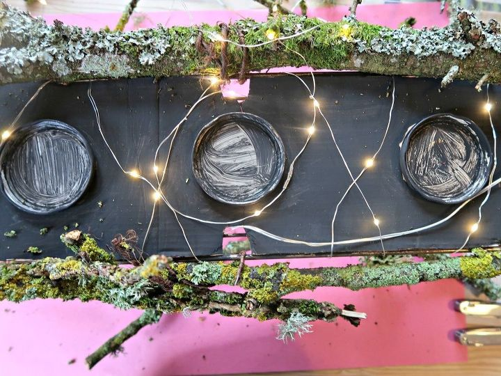 how to make a stunning woodland table decoration