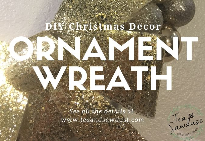 diy christmas ornament wreath decor