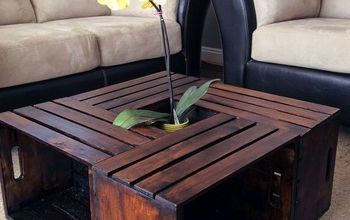 11 budget friendly diy coffee tables, DIY Crate Coffee Table Tara Anything Everything