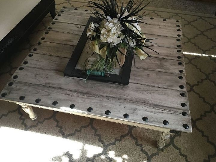 Coffee Table Made With Leftover Fence Boards (Madison McGahan)