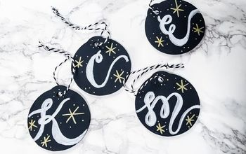 Make Your Own Stocking Name Tags