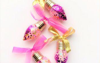 Iridescent Confetti Ornament