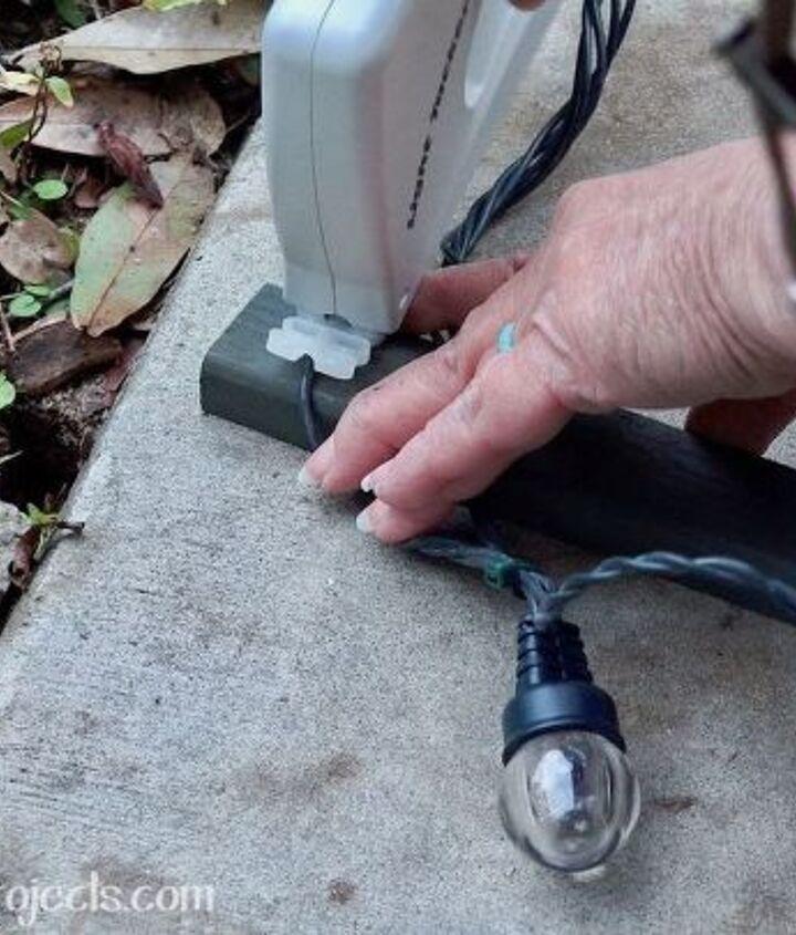 last minute outdoor decorating tip