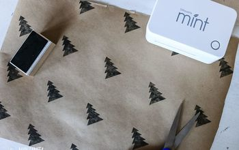 diy christmas gift wrapping idea