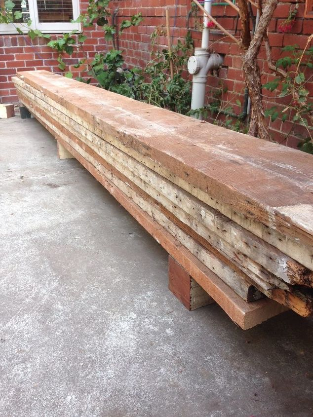 recycled oregon timber dining table