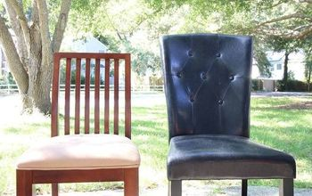 HOW TO TURN BAR STOOL CHAIRS INTO DINING CHAIRS