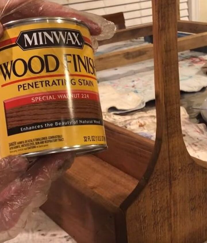 build an antique wood crate