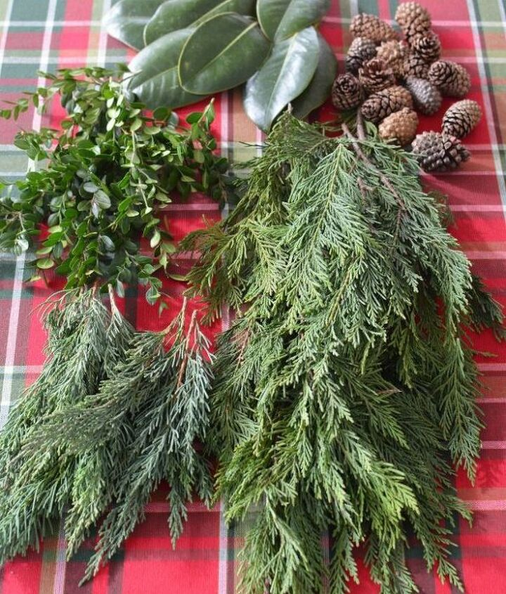 create an evergreen table runner centerpiece the easy way