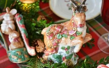 Create an Evergreen Table Runner / Centerpiece the EASY Way!