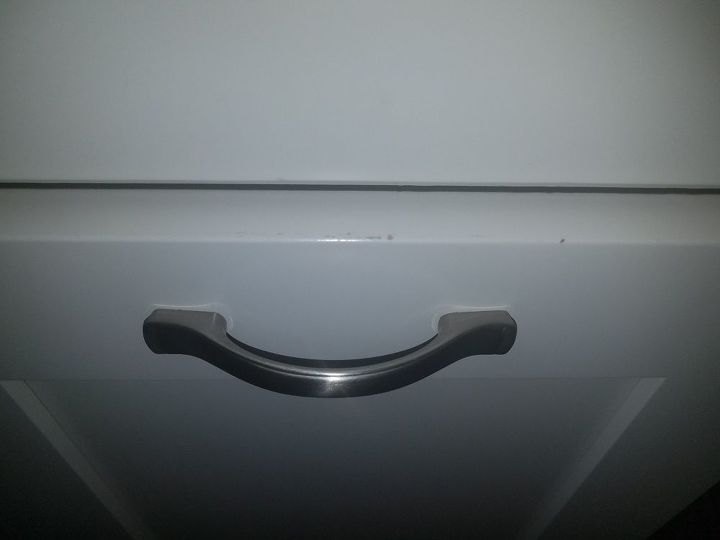 q brand new kitchen cabinets showing wear can it be stopped