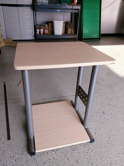 Swell How To Turn An Office Shelf Into A Diy Bar Cart Hometalk Interior Design Ideas Helimdqseriescom