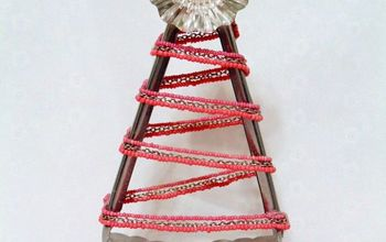 repurposed salad tongs into diy christmas trees